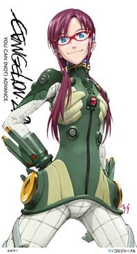 This is Makinami Mari Illustrious. Yeeeep.